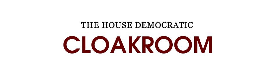 The House Democratic Cloakroom